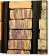 Bars Of Handmade Soap Canvas Print