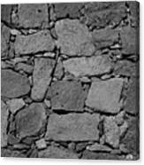 Basalt Wall Canvas Print