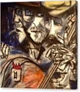 Base Boys   Men With Hats Canvas Print