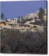 Base Camp - White Ledge Plateau - San Rafael Wilderness Canvas Print