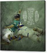 Baseball 01 Canvas Print