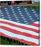 baseball all-star game American flag Canvas Print