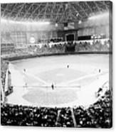 Baseball: Astrodome, 1965 Canvas Print