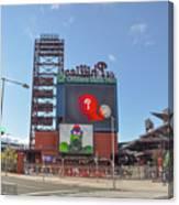 Baseball In Philadelphia - Citizens Bank Park Canvas Print