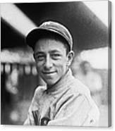 Baseball Mascot Eddie Bennett Canvas Print