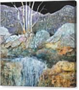 Bashful Birches Canvas Print