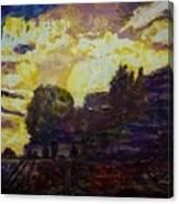 Basics Clouds II Canvas Print