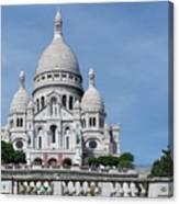 Basilica Du Sacre-coeur De Montmartre Canvas Print