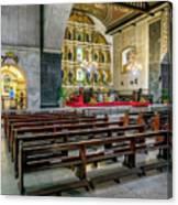 Basilica Minore Del Santo Nino Canvas Print