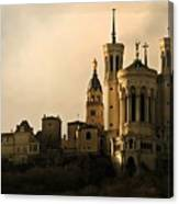Basilica Of Our Lady Of Fourviere  Canvas Print