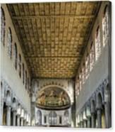 Basilica Of Saint Sabina Canvas Print