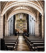 Basilica Of San Isidoro De Leon - Interior Canvas Print