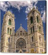 Basilica Of The Sacred Heart Newark New Jersey Canvas Print