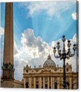 Basilica Papale Di San Pietro Canvas Print