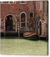 Basin In Venice Canvas Print