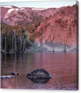 Basin Lake Sunrise 2 Canvas Print