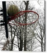 Basketball Practice Canvas Print