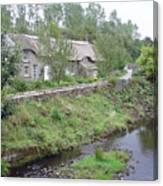 Baslow Cottages Canvas Print