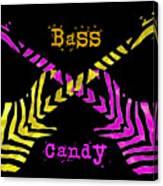 Bass Candy Canvas Print