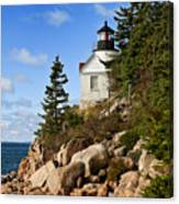 Bass Harbor Light Canvas Print