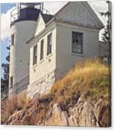 Bass Harbor Light Photo Canvas Print