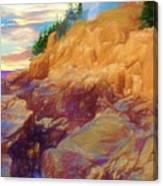 Bass Harbor Lighthouse,acadia Nat. Park Maine. Canvas Print