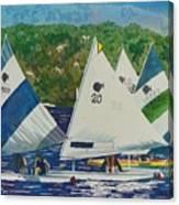 Bass Lake Races  Canvas Print