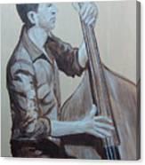 Bass Man II Canvas Print