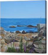 Bass Rocks Gloucester Canvas Print