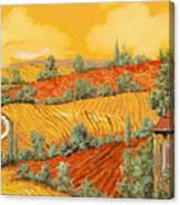 Bassa Toscana Canvas Print
