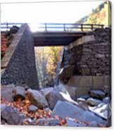 Bastion Falls Bridge 5 Canvas Print