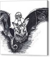 Bat Mobile Canvas Print