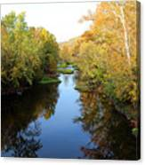 Batavia, Ohio Creek - Other Side Vertical Canvas Print