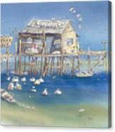 Bates Bait And Buoys Canvas Print