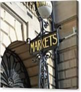 Bath - Market Canvas Print