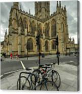 Bath Abbey 2.0 Canvas Print