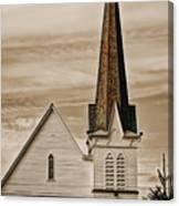 Bath Congregational Church Canvas Print