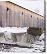 Bath Covered Bridge Canvas Print