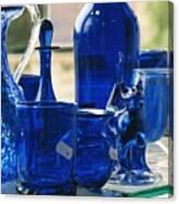 Bath Glass Canvas Print