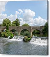 Bathampton Bridge Canvas Print