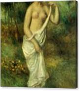 Bather 1887 1 Canvas Print