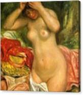 Bather Arranging Her Hair 1893 Canvas Print