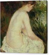 Bather Canvas Print