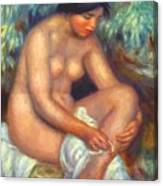 Bather Wiping A Wound 1909 Canvas Print