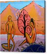 Bathers 1 Canvas Print