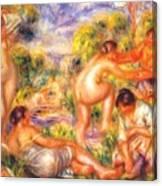 Bathers 1916 Canvas Print