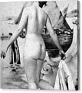 Bathing Nude, 1902 Canvas Print