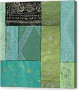 Batik Sky Canvas Print