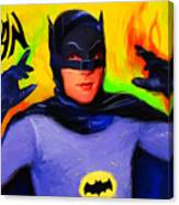Batman, Adam West Canvas Print
