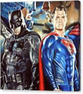 Batman V Superman Canvas Print